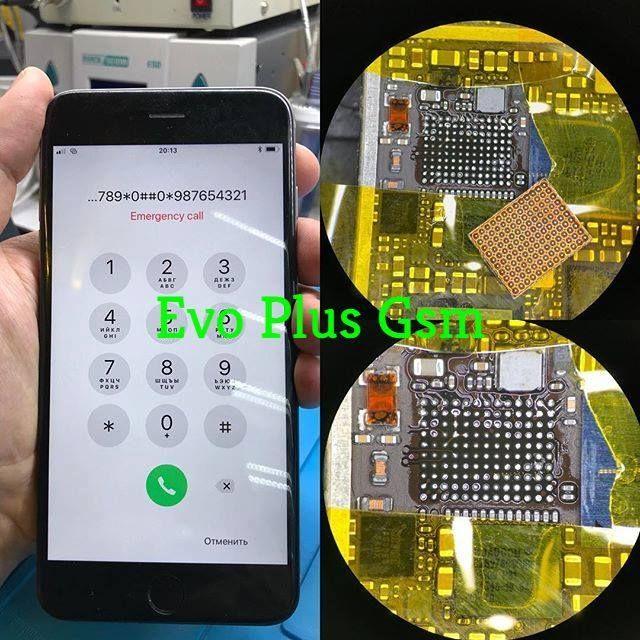Réparation problème audio iPhone 7 carte mère pas de son Micro Soudure