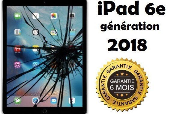 Changement Vitre Ipad 6e Generation 2018 Pas Cher A Bruxelles Ecran Casse